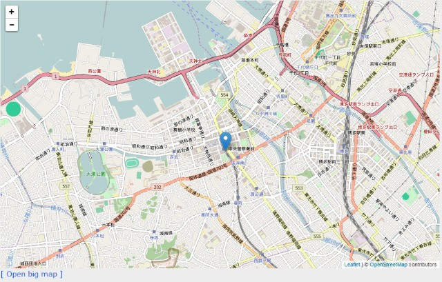 Open street map | OneThird CMS